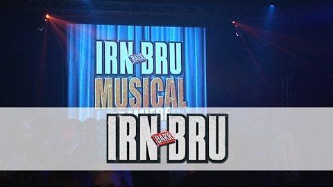 Irn-Bru Musical launch event